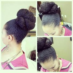 Updo-this just looks so buttery & yummy!
