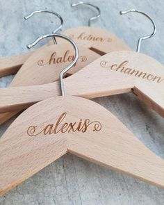 ⭐⭐⭐⭐⭐ 'These hangers are a must for your bridal party. Help make their day special on your special day. Memories for years to come.' • • • • • #bridesmaidhangers #personalizedhangers #bridesmaidgift #bridalshowergift #bridalpartygifts #bridesmaids #bridalshower #bridalparty #giftideas #bridesmaidideas #bridesmaidgiftideas #bridesmaids #bridesmaidduty #personalizedgift #customhanger #bridesquad #weddinggifts #bridalpartysquad #bridesmaidinspiration #bridesmaidhanger #personalizedhanger Bridesmaid Hangers, Bridesmaid Duties, Wedding Hangers, Bridesmaid Gifts, Bridesmaids, Personalized Hangers, Personalized Wedding, Bride Hanger, Bridesmaid Inspiration