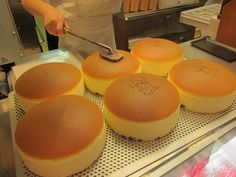 Uncle Rikuro S Puffy Cheese Cake S Osaka Japan Recipe