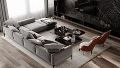 Beautiful Living Rooms, Living Room Modern, Living Room Designs, Apartment Projects, Apartment Interior, Modern Interior, Interior Architecture, Interior Design, Residential Architecture