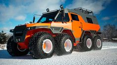 8 Most Extreme Offroad Vehicles in the World - Outdoors, Camping & Expedition - Motocicletas Carros Off Road, Hors Route, 6x6 Truck, Can Am, Offroader, Bug Out Vehicle, Terrain Vehicle, Expedition Vehicle, Off Road Racing