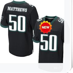 $66.00--50 Casey Matthews Jersey - Nike Stitched Alternate Philadelphia Eagles  Jersey,Free Shipping! Buy it now:http://is.gd/JUFAZa