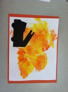 Toddler Art, Toddler Crafts, Preschool Crafts, Police Crafts, Firefighter Crafts, Community Helpers Crafts, Safety Crafts, Fire Crafts, Fire Safety Week