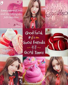 Sowon moodboard Gfriend moodboard