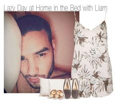 """Lazy Day at Home in the Bed with Liam"" by elise-22 ❤ liked on Polyvore featuring Topshop, Splendorest, UGG Australia, bedroom, women's clothing, women's fashion, women, female, woman and misses"