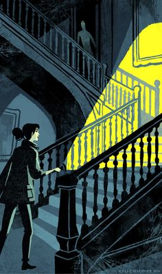 """Great illustrations by Kali Ciesemier, a New York-based freelance illustrator with """"a love of color and the fantastic"""". Kali has created artworks for a range… Illustrations, Book Illustration, Nocturne, We All Mad Here, Lockwood And Co, Berkeley Square, Ghost Hunting, Animation, Design Graphique"""