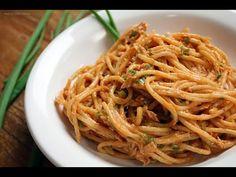 Espaguete com atum - Chef Taico