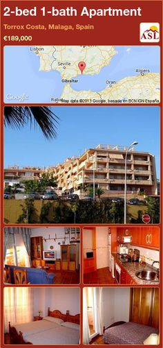 2-bed 1-bath Apartment in Torrox Costa, Malaga, Spain ►€189,000 #PropertyForSaleInSpain