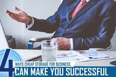 It can be very hard to run your business the way you want to if there's not enough room for your products, paperwork, or even furniture. Fortunately, getting cheap storage for business provides the answer to the space problem that many entrepreneurs face. Cheap Storage, Self Storage, Commercial, Success, Canning, Space, Business, Room, How To Make