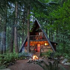 Shed Homes, Cabin Homes, Log Homes, Tiny Homes, Tiny Cabins, Cabins And Cottages, Shed House Plans, Cabin Plans, Cabin In The Woods
