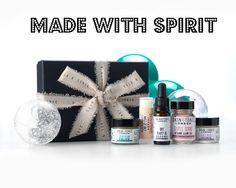Skin & Tonic Christmas Gift Set. British. Organic. Minimal skincare.
