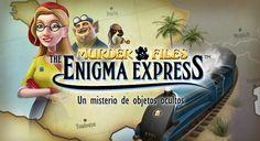 Murder Files: Enigma Express para Android, un nuevo juego de misterio, pistas para seguir y casos para resolver.