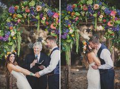 Temecula Creek Inn wedding/ bohemian/rustic/  sevenstemsdesign.com