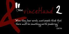 vinceHand II font download