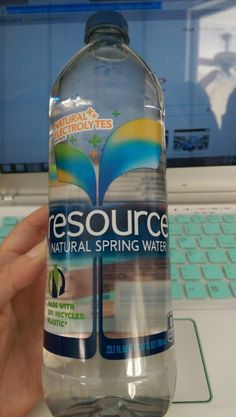 Resource Natural Spring Water - yummy & without the metallic taste of some spring water. Love the bigger 23.7 oz size too.  #refreshwithresource  #contest @resourcewater  @Influenster