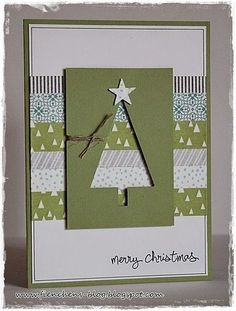 60 Ideas Diy Christmas Cards Ideas Link - Stampin Up Christmas Card Crafts, Homemade Christmas Cards, Christmas Cards To Make, Homemade Cards, Holiday Cards, Christmas Ideas, Christmas Card Designs, Christmas Cookies, Merry Christmas