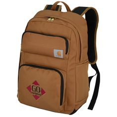 Put your logo to work on this personalized Carhartt® backpack!