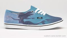 Little Mermaid Vans. Why cant these be real Shoes Ads, Vans Shoes, Shoes Heels, Vans Sneakers, Custom Sneakers, Converse, Cool Vans, Vans Style, Custom Vans
