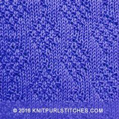 Knit - Purl stitches