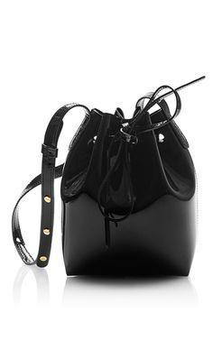 d6cae7a40bfa Mini Bucket Bag by MANSUR GAVRIEL Now Available on Moda Operandi Leather  Shoulder Bag