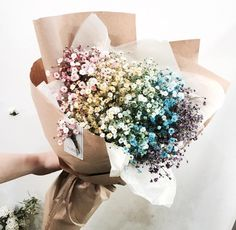 i want this as my medding bouquet-- selah Diy Bouquet, Dried Flower Bouquet, Dried Flowers, Bouquets, Bunch Of Flowers, My Flower, Beautiful Flowers, Horticulture, Spring Wedding