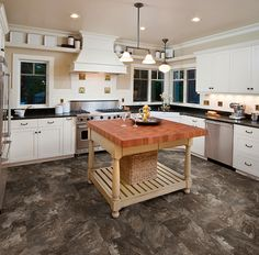 The time for kitchen goodies is here! Fall calls for pumpkin pies and so much for delicious food, but first you should get your kitchen ready for the daily grind of the holiday season by updating your floors to IVC US floors! TITAN 60088 CL/60130 GD is just one of the many great floors you will find.