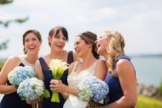 #JohnOrtonFlowersandEvents #HyattRegencyNewport #Wedding #FallWedding #NewportRI #NewportWedding #Bride #Bridesmaids #CallaLily #Flowers #Blue #Hydrangea