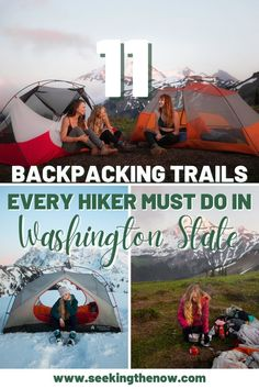 Absolutely loved these backpacking trails near Seattle and I think you will too! #backpackingtrails #backpackinginWashington #hikinginWashington Washington Camping, Backpacking Trails, Adventure Aesthetic, Wanderlust, Adventure Travel, Adventure Quotes, Adventure Photography, Simple, Seattle