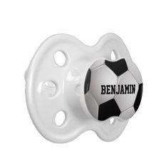 58f88f7a1f4 Customizable Football Soccer Ball Pacifier Football Soccer