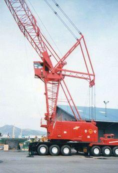 Crane Construction, Heavy Construction Equipment, Heavy Equipment, Manitowoc Cranes, Lego Crane, Heavy Machinery, Heavy Truck, Tractors, Transportation