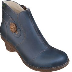 Zapatos El Naturalista | Calzado Comodo - Producto - Mujer - shoes-aw12 - tesela - n748 - vaquero -