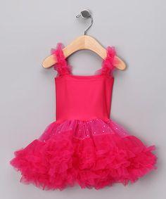 Princess Expressions Fuschia tutu dress.