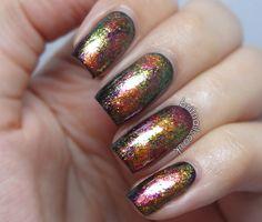 Brit Nails: Pools of Jewels