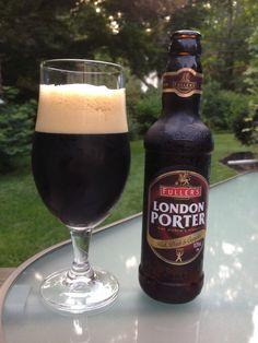 Day Fuller's London Porter from Fuller, Smith & Turner. Style of beer is 'Brown Porter'. ABV is Fullers Beer, Porter Beer, British Beer, Make Your Own Beer, I Like Beer, Dark Beer, Alcohol, Irish Whiskey, Beer Bar