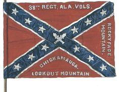 Flag of the 38th Regiment, Alabama Volunteers