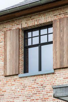 Bricks, Ideas Para, Garage Doors, Sweet Home, Exterior, Windows, Rustic, Country, Architecture