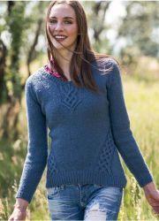 Вязание джемпера реглан сверху Swivel http://vjazhi.ru/jenskaya-vyazanaya-odejda-s-opisaniem/pulovery/vyazanie-dzhempera-swivel-interweave-knits-winter-2014.html