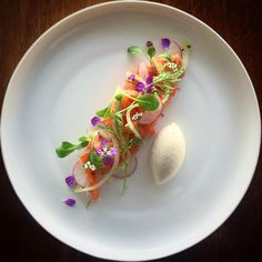"""770 Likes, 10 Comments - Linking the Culinary World (@cookniche) on Instagram: """"Gin cured salmon, pickled cucumber, radish... Beautiful dish by @phils_kitchen_nz - #cookniche…"""""""