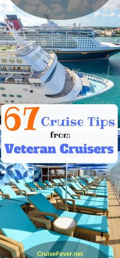 Our cruise group was asked to share at least one cruise tip, and we received hundreds of replies. While you may not agree with all of them feel free to add your own to the list in the comments below. These 67 cruise tips should help get the ball rol Packing List For Cruise, Cruise Travel, Cruise Vacation, Vacation Trips, Vacation Destinations, Cruise Excursions, Bahamas Cruise, Cruise Port, Honeymoon Cruise
