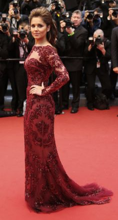 Cheryl Cole Cannes 2013