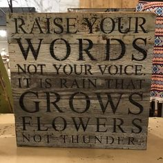 """Inspirational Signs!! A """" Feel Good """" gift for just about anyone!!! #woodensigns #inspirationalquotes #boutiqueshopping #columbus #uptowncolumbusgeorgia"""