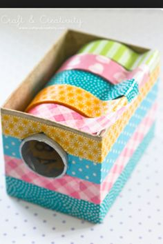 Box of washi tape