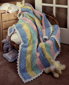 Free Crochet Afghan Patterns Intermediate : 1000+ images about ? Crochet Baby Blankets ? / Afghan ...