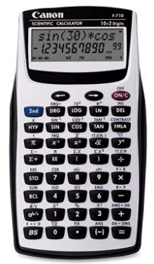 Canon Scientific Calculator - 139 Functions - 2 Line - 12 Digits - LCD - Battery Powered - X X Canon, Sin Cos Tan, Work Project, Line Design, Calculator, Amazon Products, Teaching Materials, Electronics, Skateboards