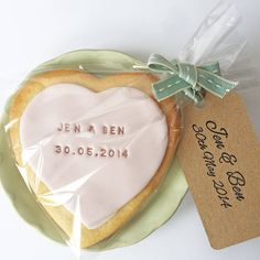 Personalised Wedding Favour Stamp - These could also work in for a small budget