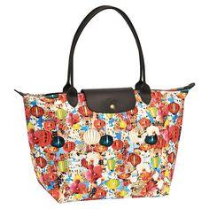 Mary Katrantzou for Longchamp...perfect weekend bag? yes