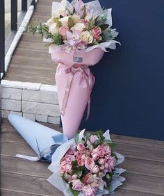 Buying Ideas for Valentine's Day Flowers and Gifts Flower Box Gift, Flower Boxes, My Flower, How To Wrap Flowers, Bunch Of Flowers, Beautiful Flowers, Bouquet Wrap, Diy Bouquet, Bouquets
