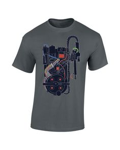 Ghostbusters Proton Pack T-Shirt Ghostbusters Proton Pack, T Shirt Time, Cool Things To Buy, Stuff To Buy, Harold Ramis, Shirt Designs, Cool Stuff, Trivia, Halloween Costumes