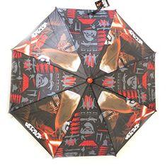 Niño paraguas 'Star Wars'negro, rojo, rojo (46 cm - 84 cm de diámetro). - http://comprarparaguas.com/baratos/starwars/nino-paraguas-star-warsnegro-rojo-rojo-46-cm-84-cm-de-diametro/