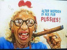 geburtstag... älter werden ist nix für pussies ❀